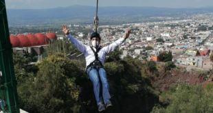 Piden continuar Parque Aventura Tulancingo