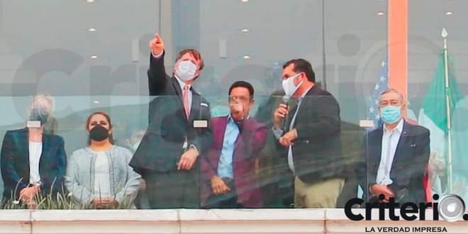 Embajador de Estados Unidos visita Hidalgo; se reúne con Fayad