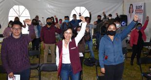 Susy Ángeles invita a jóvenes a su proyecto de gobierno