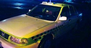 Detienen a una persona tras robo a taxista, en La Loma, Pachuca