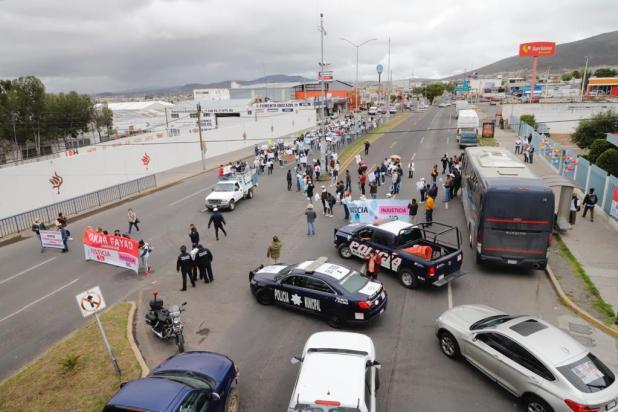 Familiares de detenido por presunto feminicidio de Mariana se manifiestan