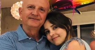 Paulina Goto despidió a su padre en Instagram