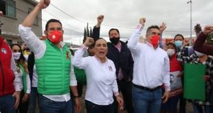 Respalda el dirigente nacional del PRI a Israel Félix Soto