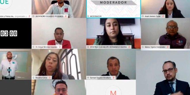 IEEH organiza primer debate Zacualtipán