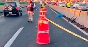 Arrollan ciclista muere México-Pachuca