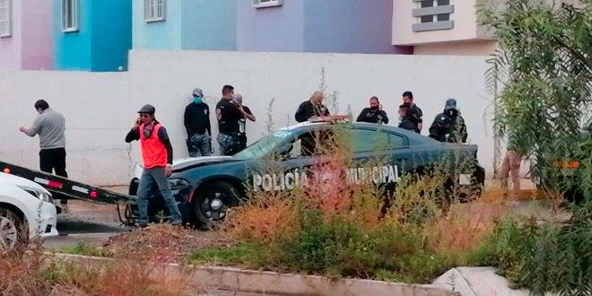 Choca patrulla Mineral de la Reforma Paseos de Chavarría