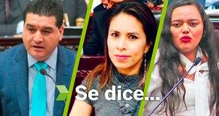 Se dice... que Roxana Montealegre, Marcelino Carbajal y Simey Olvera