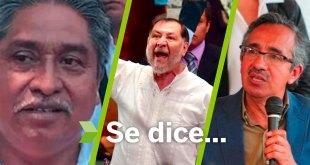 Se dice... que Fernández Noroña, Pablo Vargas y Eustorgio Hernández