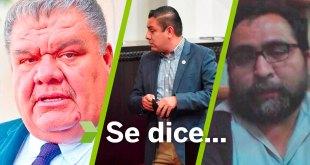 Se dice... que Crisóforo Rodríguez, Tonatiuh Herrera y Jorge Mayorga