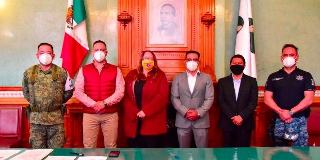 Designa Concejo Francisco Cervantes titular Seguridad Pachuca