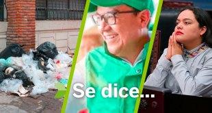 Se dice... que la basura, Roxana Montealegre y Octavio Magaña