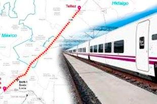 Tren suburbano conectará Pachuca aeropuerto Santa Lucia