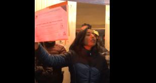 Susana Ángeles recibe su constancia de mayoría