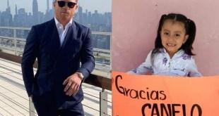 Canelo Álvarez entrega casi 300 mil pesos a niños con cáncer