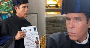 Reconocen a Roberto Palazuelos con el Doctorado honoris causa