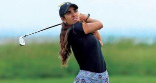 Reanudó María Fassi actividad LPGA