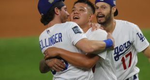Se coronan los Dodgers de Los Ángeles de la mano de mexicanos
