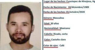 Se busca a Sergio Ricardo Castelán Camacho, se extravió en Cuautepec