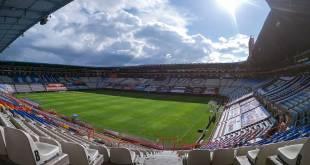 Regreso aficionados estadio Hidalgo semáforo