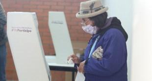 Participación urnas Hidalgo 48.96%