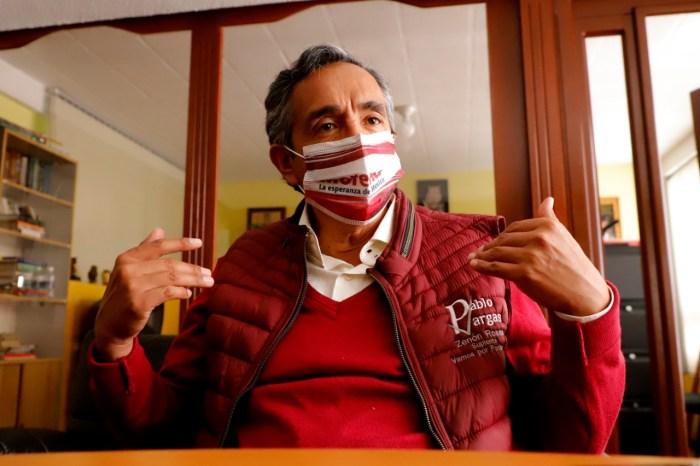 Pablo Vargas actos anticipados precampaña TEEH