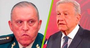 Detención Cienfuegos descomposición Obrador