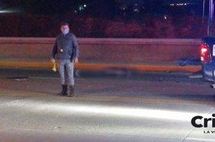 choque muere motociclista Río de las Avenidas