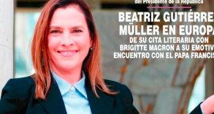 Beatriz Gutiérrez Müller revista ¡Hola!
