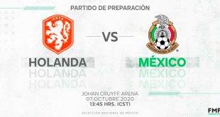Selección Mexicana alineación Holanda