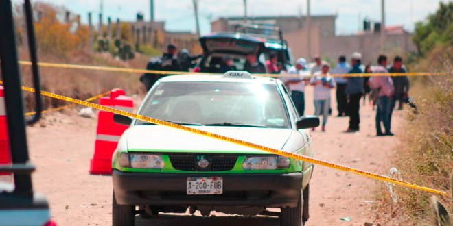 Hallan Taxi Mineral de la Reforma chofer desaparecido