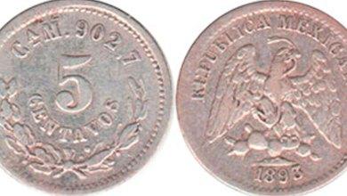 Conoce monedas 5 centavos valen 39 mil pesos