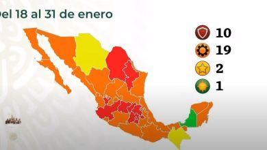 Regresa Hidalgo semáforo rojo 18 al 31 de enero