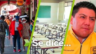 Se dice... que los pachuqueños, Héctor Chávez Ruiz y sin clases