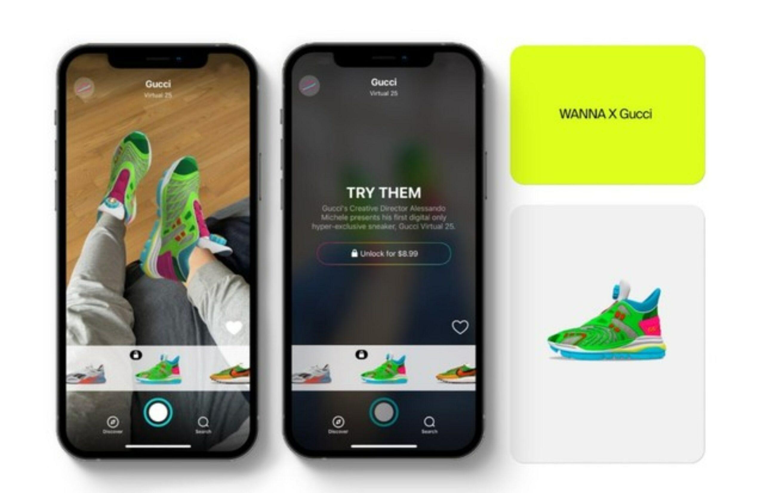 Gucci lanza sus primeros tenis virtuales a 250 pesos