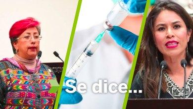 Se dice... que vacuna en Pachuca, Corina Martínez y Simey Olvera