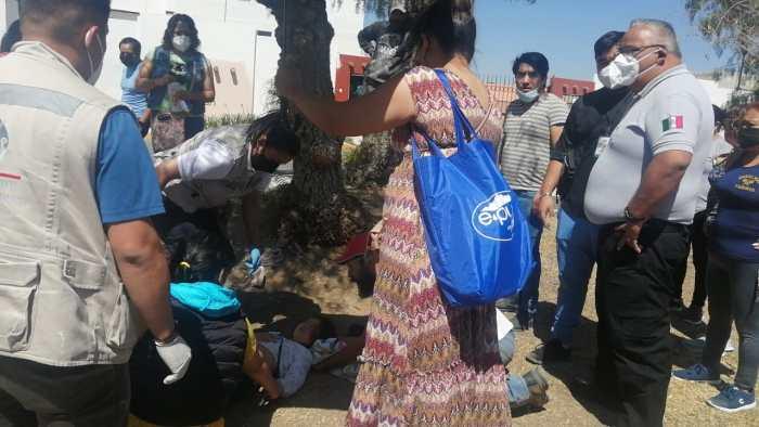 Atropellan a niña en calles de Paseos de Chavarría, Mineral de la Reforma
