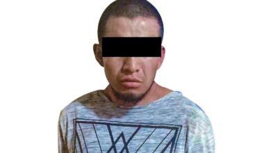 Aseguran a hombre tras presunto asalto Apan