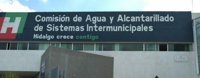 Por fuga y obturación,sin agua endoscolonias de Pachuca