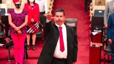 Congreso toma protesta a José Romero, suplente de José Luis Muñoz