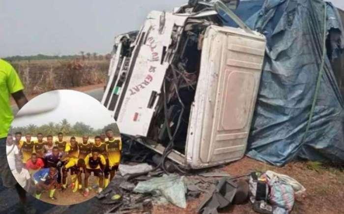 Mueren nueve futbolistas de Sierra Leona en accidente