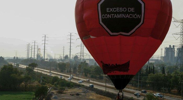 globo Greenpeace exceso contaminación termoeléctrica Tula