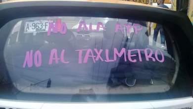 Anuncian taxistas amparos contra nueva app Taxi Contigo