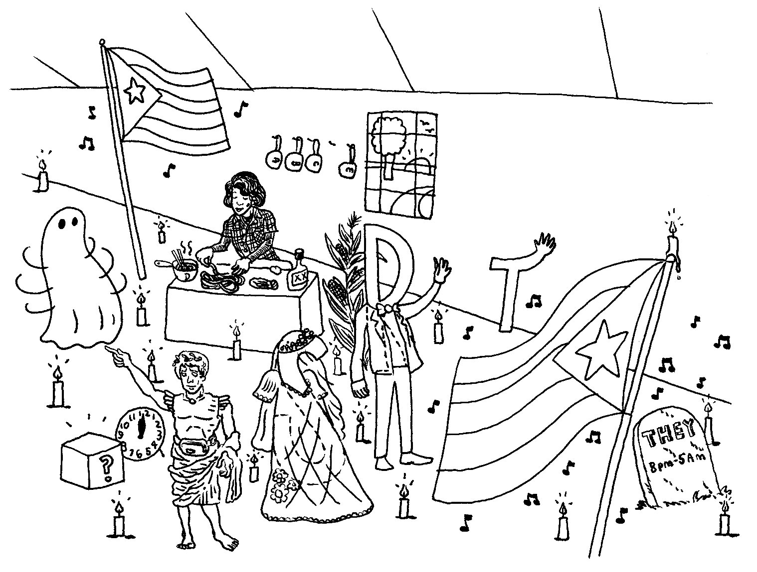 Wacky New Years Drawing Hints At The Criterion Collection