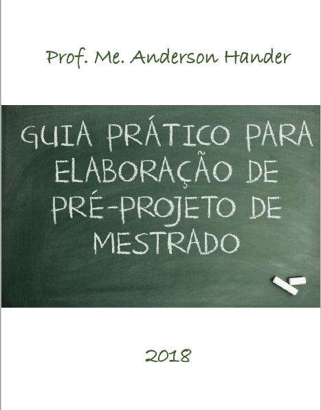 Pré-projeto de mestrado