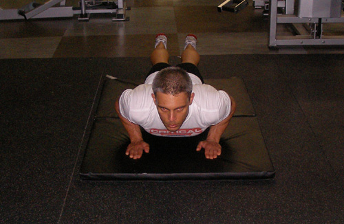 Close Grip Push Up Triceps Exercise