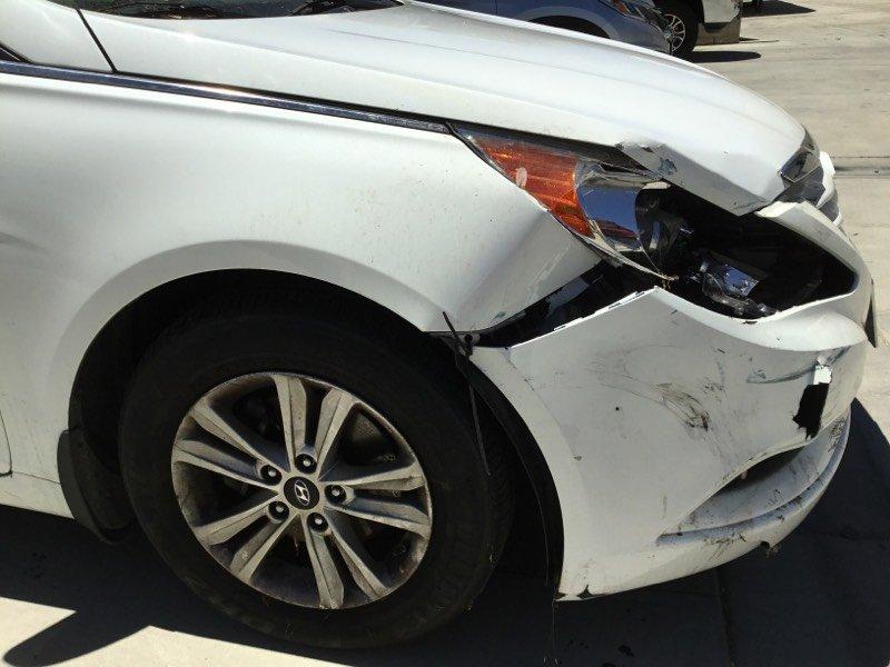 Auto Repair Before and After,  Hyundai Sonata