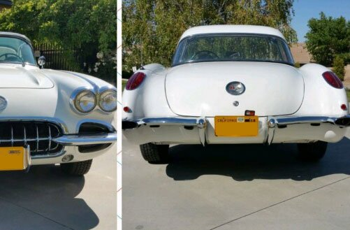 1958 Chevy Corvette custom auto repair