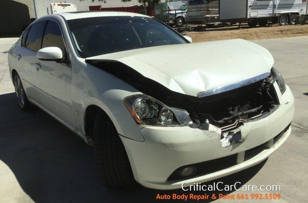 2006 Infinity M35 auto body repair & paint