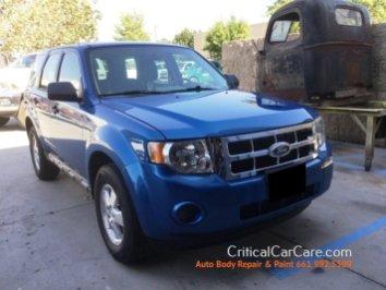 Ford Escape repair paint critical car care 661 992.5509