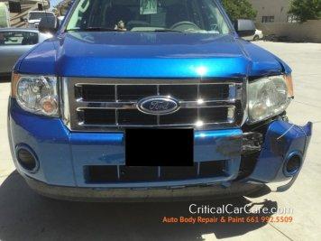 Ford Escape auto body repair paint critical car care 661 992.5509